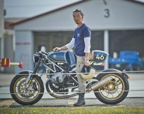 """Der """"Clubman Racer"""" von Shiro Nakajima."""